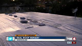 Scam or saviors? Immokalee woman worried about roofing job - Video