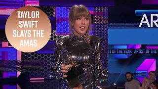 Why Taylor Swift won the night at the American Music Awards