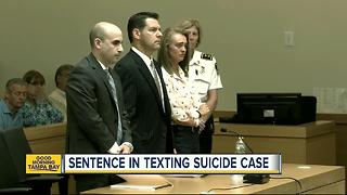 Woman guilty of coercing boyfriend to kill himself by text faces up to 20 years - Video