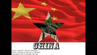 Flags and photos of the countries in the world: China [Quotes and Poems]