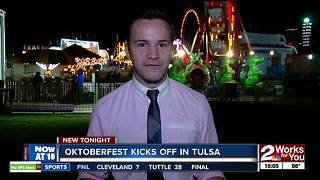 Oktoberfest kicks off in Tulsa - Video