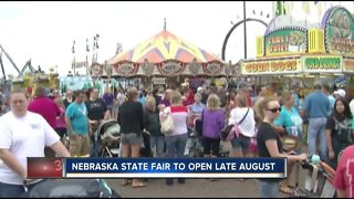 Nebraska State Fair to open late August