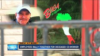 Employees rally together to bury deceased co-worker - Video