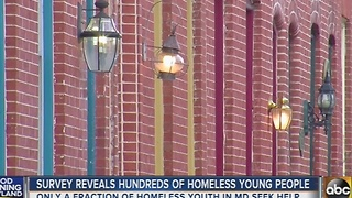 Survey reveals hundreds of homeless young people - Video