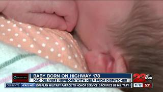 Dad helps deliver his baby on the side of Highway 178