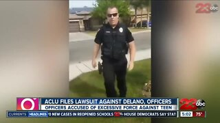 ACLU files lawsuit against Delano, officers