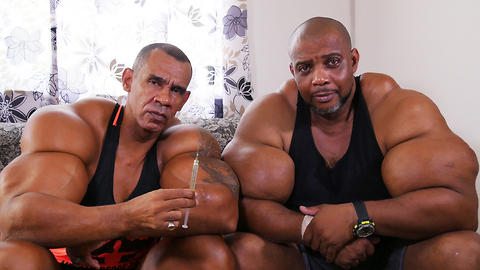 'Hulk' Brothers Risk Death By Injecting Muscle-Building Chemicals | HOOKED ON THE LOOK