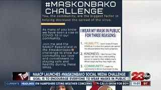 NAACP launches #maskonbako social media challenge