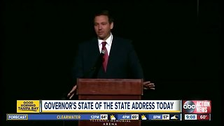 Governor DeSantis to deliver first State of the State address Tuesday