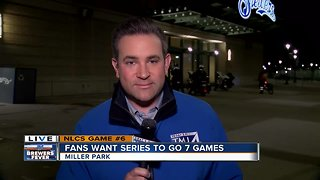 Fans Want Series to Go 7 Games - Video
