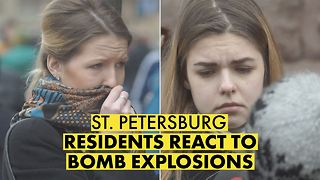 One day later: St. Petersburg reflects on bombing - Video