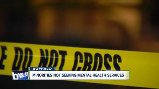 Minorities are not seeing mental health services
