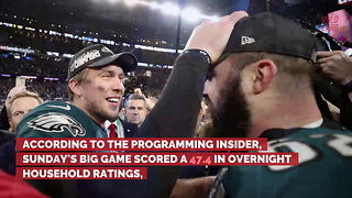 NFL Ratings Trend Continues, Super Bowl LII Ratings Down From 2017