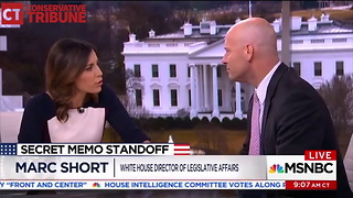 Marc Short Blasts MSNBC - Video