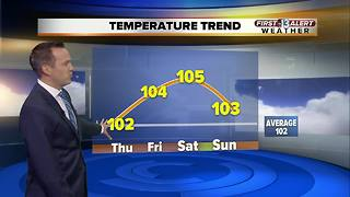 13 First Alert morning forecast for Aug. 17 - Video