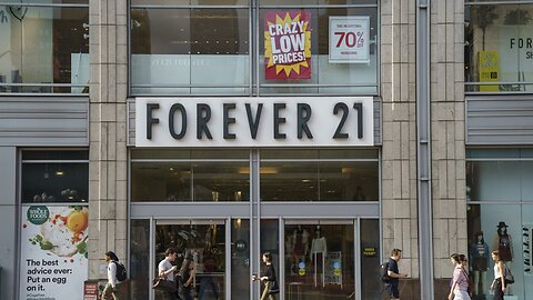 Forever 21 Files For Bankruptcy Protection