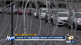 Businesses pushing to survive amid border crisis