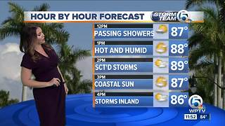 South Florida Monday afternoon forecast (6/18/18)