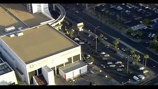 Shooting outside of Bally's hotel-casino - Video