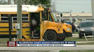 Hillsborough County faces pressure to build new schools - Video