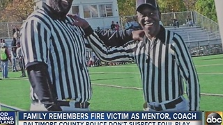 Family remembers Parkville fire victim as mentor, coach - Video