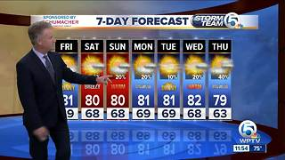 Latest Weather Forecast 11 p.m. - Video