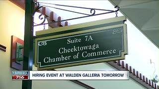 Cheektowaga Chamber hosts job fair - Video