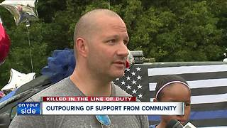 Outpouring of support in Mentor - Video