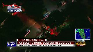Person in custody after 2 hurt in BallenIsles - Video