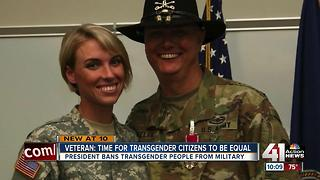 Locals react to Trump's transgender military ban - Video