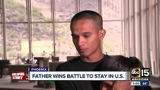 Phoenix father wins deportation battle to stay in U.S
