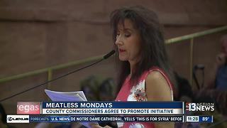 Meatless Mondays iniative approved by Clark County Commission - Video