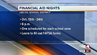 Lee County hosts financial aid night