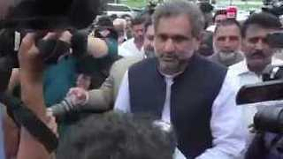 Pakistani Parliament Selects Caretaker PM - Video