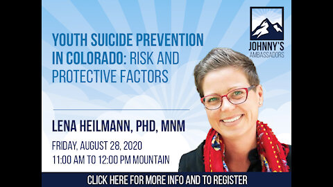 Youth Suicide Prevention in Colorado: Risk and Protective Factors