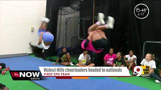 Walnut Hills cheerleaders looking to make history - Video