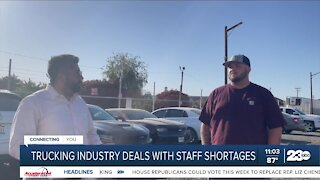 Truck drivers see a Nationwide shortage, could impact prices of goods