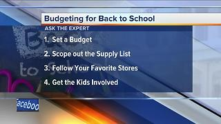 Ask the Expert: Back to school finances - Video