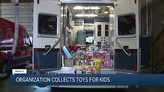 Local organization holding holiday toy drives for foster children