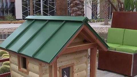 Barkitecture doghouses to benefit HomeAid Southern Nevada