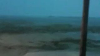 Sea 'Disappears' Off Island in Bahamas After Hurricane Irma - Video