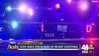 Kansas City police search for suspects after deadly weekend - Video