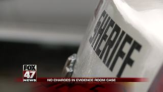 No charges will be filed in case of missing evidence from Ingham County Sheriff's Office - Video