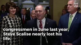 Steve Scalise Defiantly Defends 2nd Amendment, Attacks Lawmakers - Video