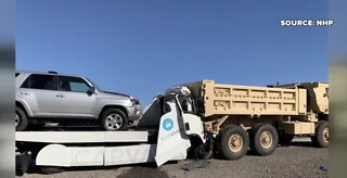 Fatal crash involving Carvana truck in Las Vegas