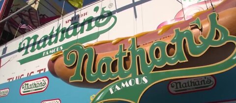 Nathan's hot dog eating Contest will go on