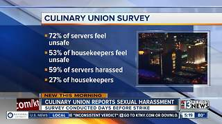 Culinary Union releases info on sexual harassment - Video