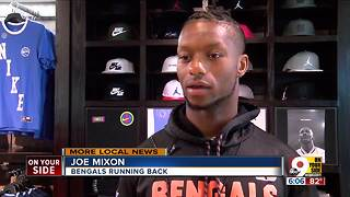 Bengals' Joe Mixon takes kids shopping for back-to-school
