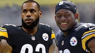 LeBron James Becoming a TWO SPORT Athlete & Joining the Steelers!!? - Video
