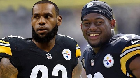 LeBron James Becoming a TWO SPORT Athlete & Joining the Steelers!!?
